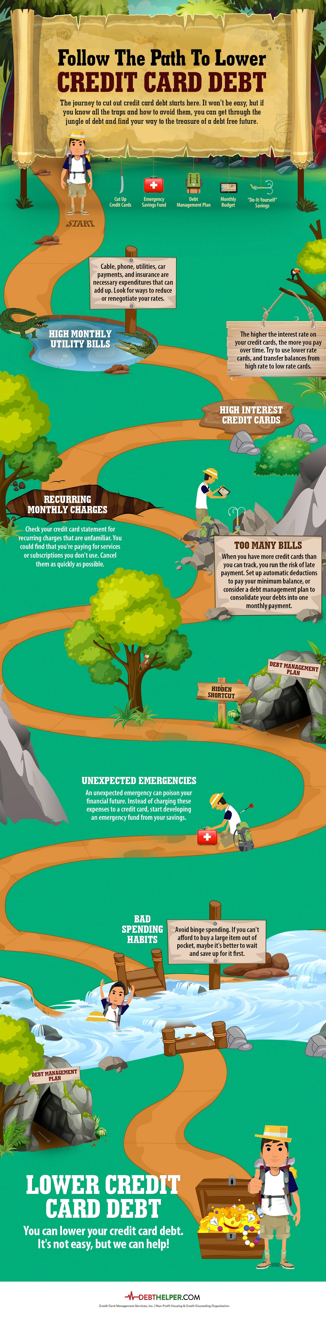 Credit-card-jungle-theme-infographic
