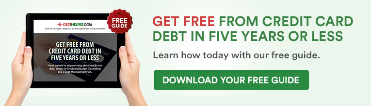 Get Free from Credit Card Debt in Five Years or Less